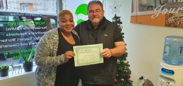 Congratulations to Clive our November Employee of the Month!