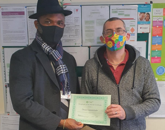Congratulations to Dean our January Employee of the Month!