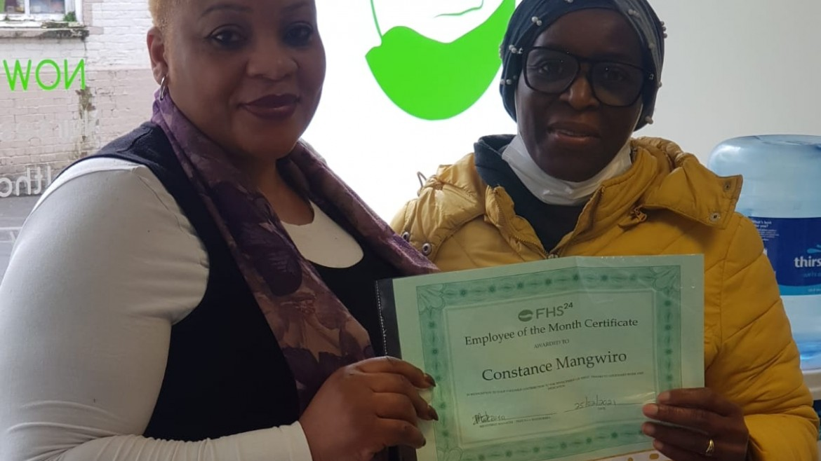 Congratulations to Constance our February Employee of the Month!